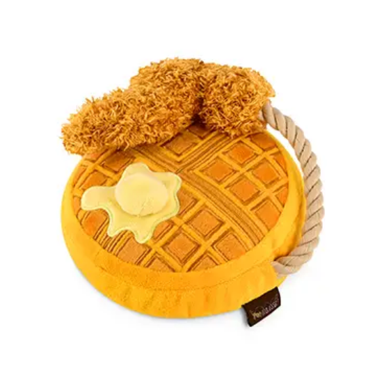 Chicken and Woofles Dog Toy