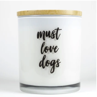 Must Love Dogs Candle - Sea Salt