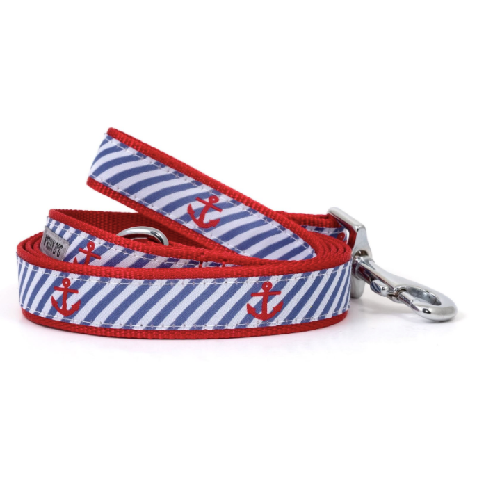 Navy Stripe Anchors Lead