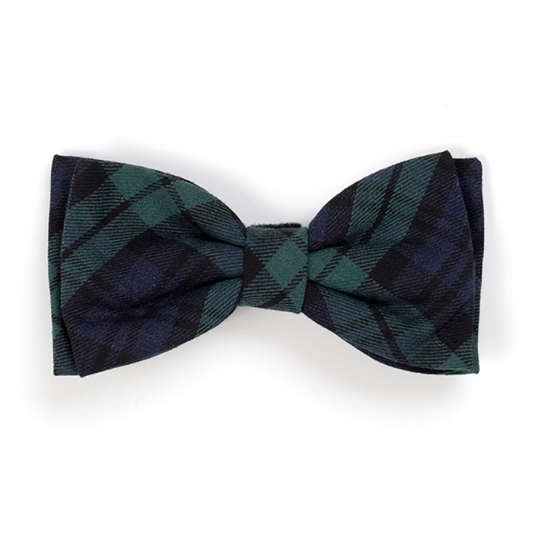 Black Watch Plaid Bow Tie