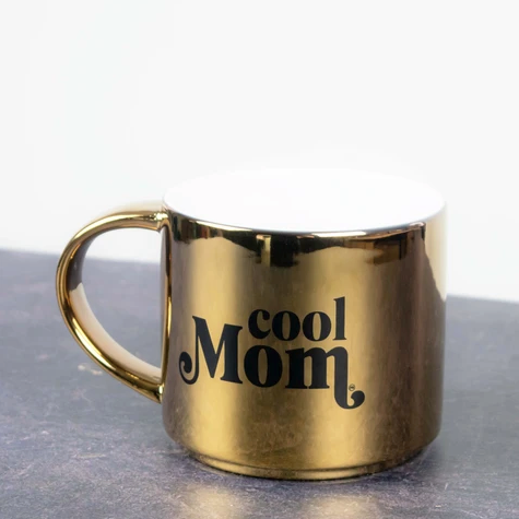 Cool Mom Gold 16 ounce Coffee Mug