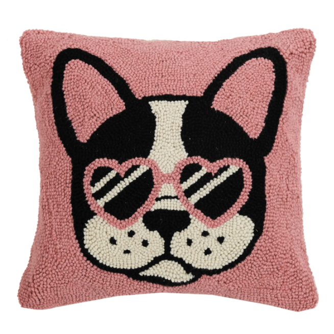 Cool French Bulldog Hook Pillow