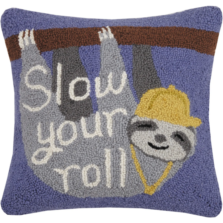 Slow Your Roll Hook Pillow