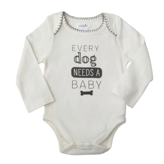 Every Dog Needs a Baby Crawler/Onesie