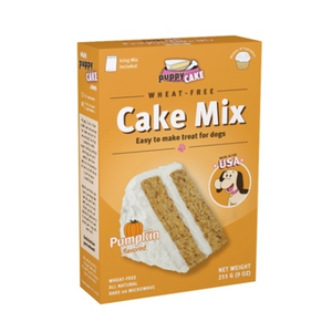 Puppy Cake Mix and Frosting - Pumpkin