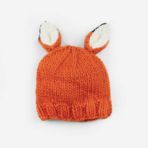Rusty Fox Hand | Knit Kid & Baby Hat