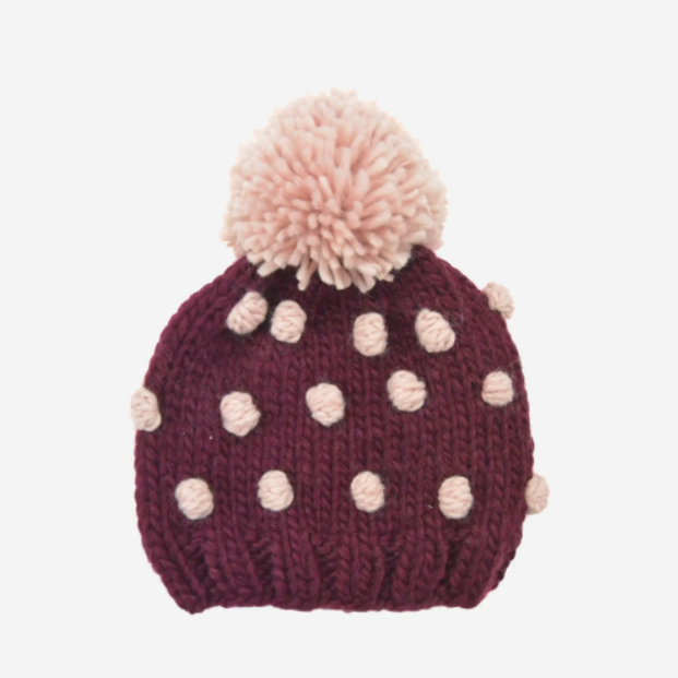 Popcorn Dot Hat |  Kids & Baby Hat