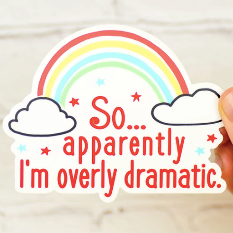 Dramatic Sticker
