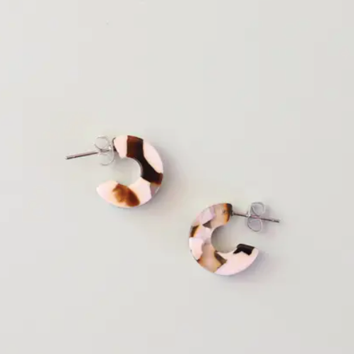 Mali in Coco Cream - Earrings