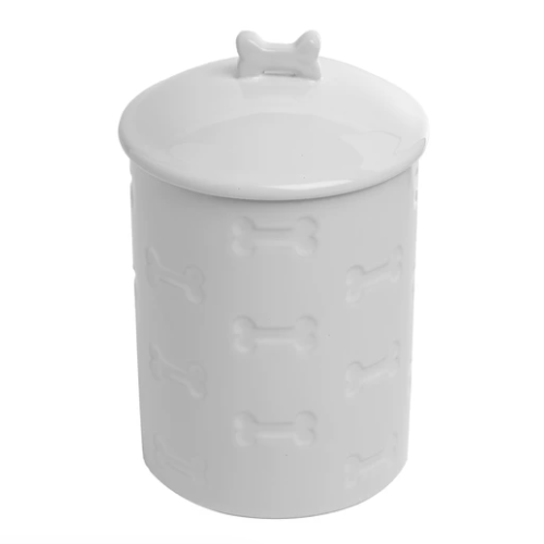 Manor White Treat Jar