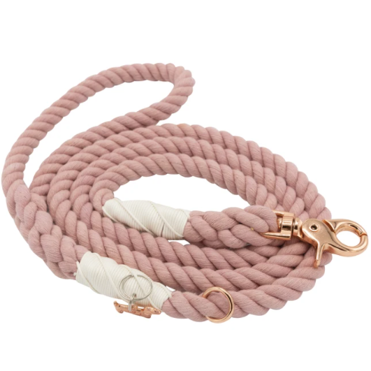 Rose All Day  Rope Leash