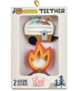 Little Camper Teether Toy - Set of 2