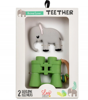 Animal Lover Teether Toy - Set of 2
