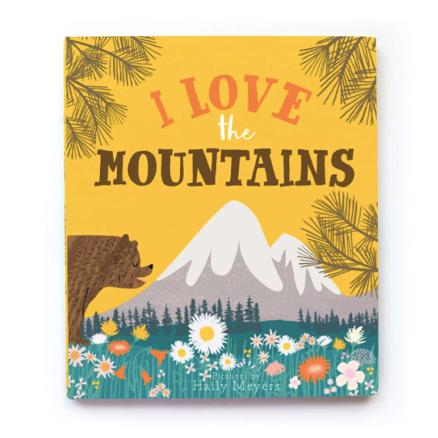 I Love The Mountains - Childrens Book