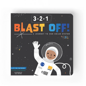 3-2-1 Blast Off! A Journey to Our Solar System - Children's Book