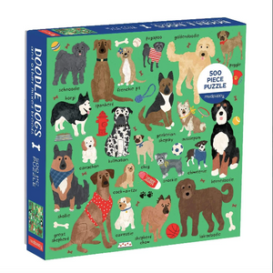 Doodle Dog And Other Mixed Breeds 500 Piece Family Puzzle