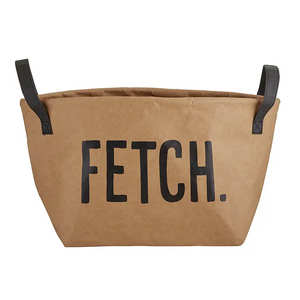 Fetch Washable Paper Storage Tote Toy Bin - Kraft