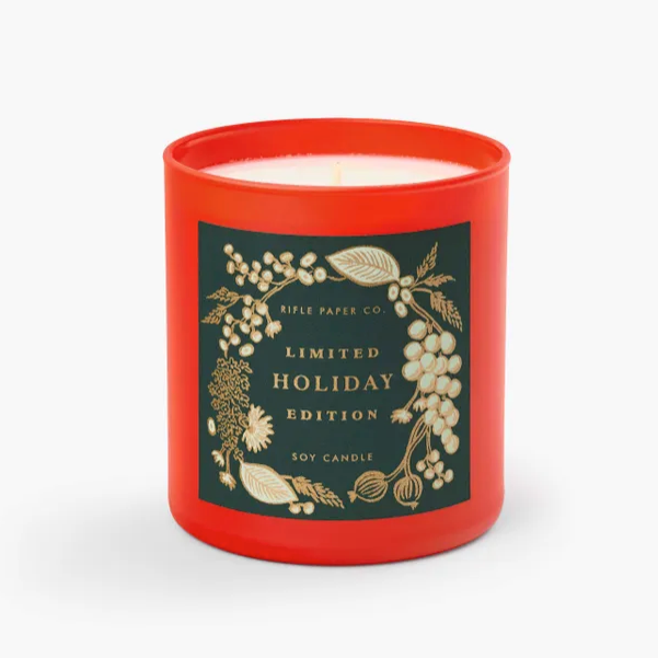 Holiday Candle - Limited Edition by Rifle Paper Co