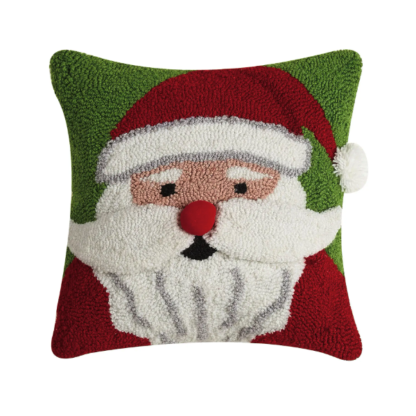 3D Santa Hook Pillow - Christmas