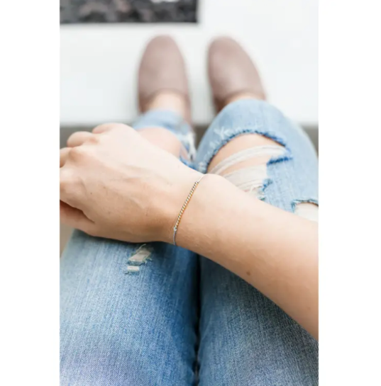 Sentiments Bracelet- Thanks A Bunch