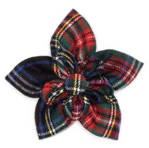 Stewart Plaid Flower