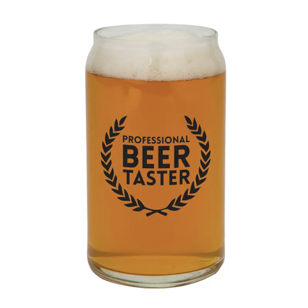 Professional Beer Taster Can Glass