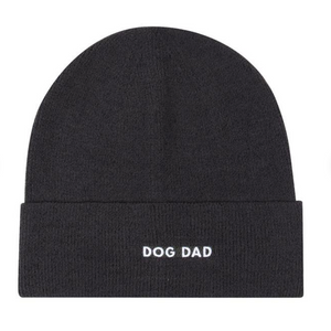 Light Weight Dog Dad Knit Hat Beanie (pre order)