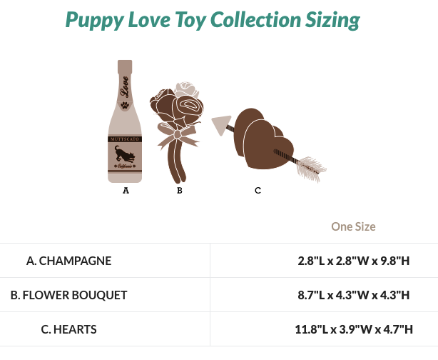 Fur-Ever Hearts - Puppy Love Collection