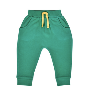 Baby Lounge Pants - Emerald Green