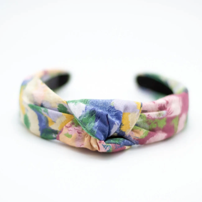 Knotted Headband - Floral