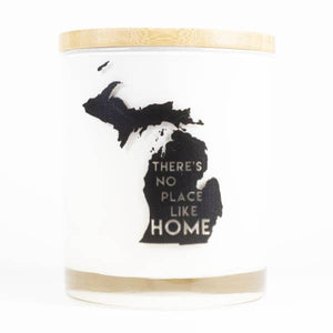 There's No Place Like Home Soy Candle - Vintage Moss