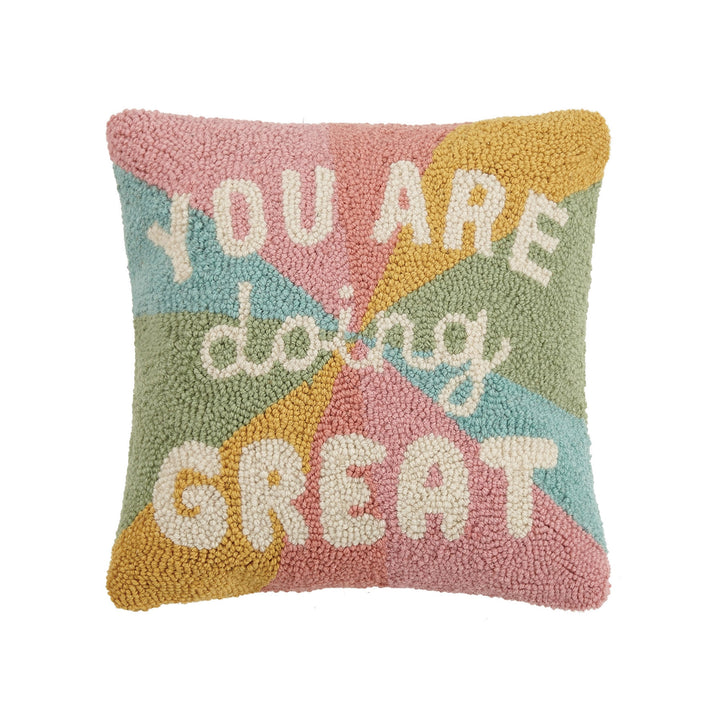 You Are Doing Great Hook Pillow