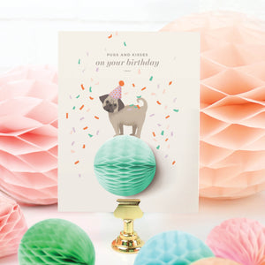 Birthday Pug Pop-up Greeting Card