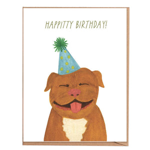 Fawn Paper Co - Pitty Birthday Card