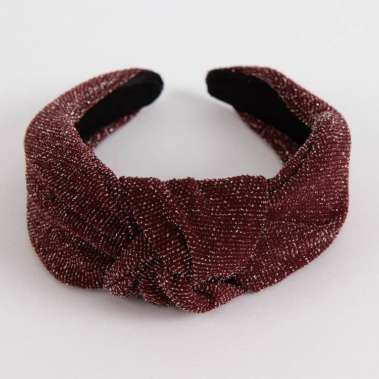 Sparkle Headband - Ruby