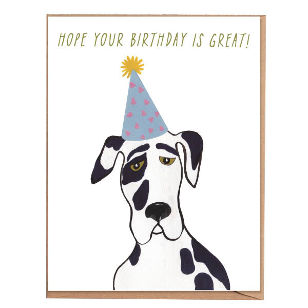 Fawn Paper Co - Great Dane Card