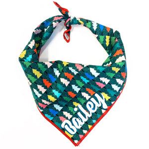 O Christmas Tree Dog Bandana
