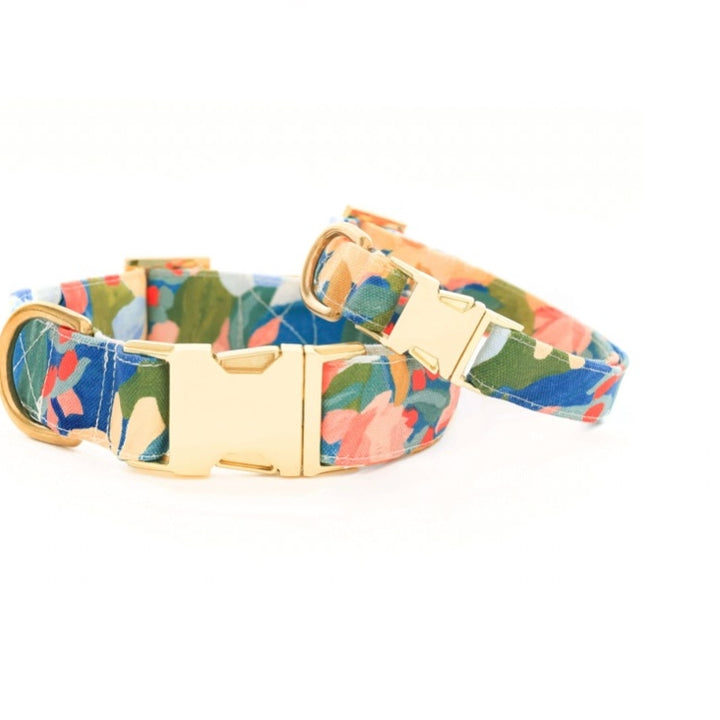 The Foggy Dog - Wildflower Dog Collar