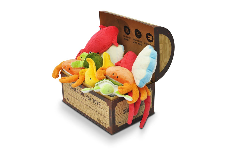P.L.A.Y. Pet Lifestyle and You - Under the Sea Toy Set (15 pc in Display Box)