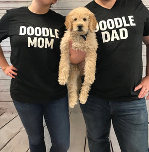 Doodle Mom and Doodle Dad T-Shirt Set