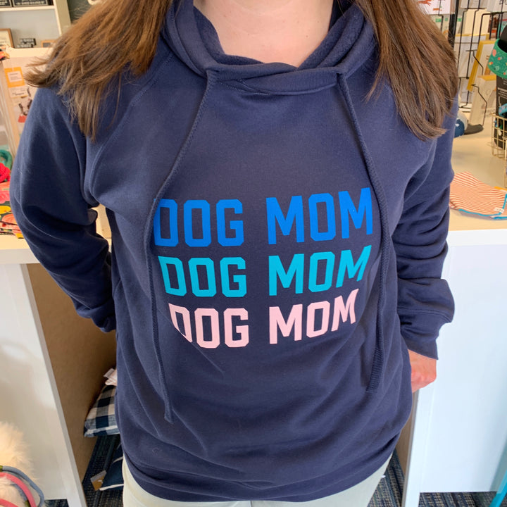 Dog Mom Crossover Hoodie Sweatshirt