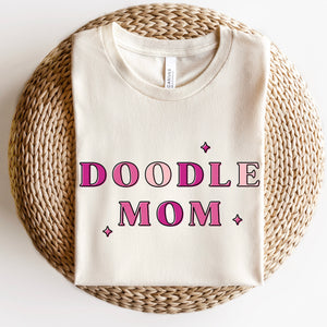 Doodle Mom T-Shirt - Natural