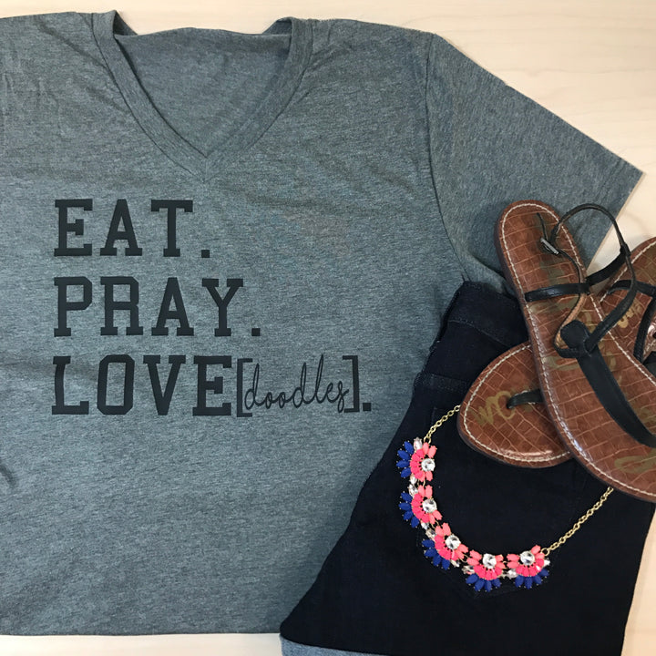 Eat Pray Love Doodles T-Shirt