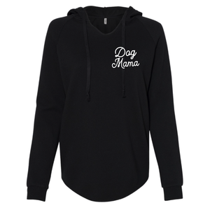 Dog Mama Light Weight Hooded Sweatshirt