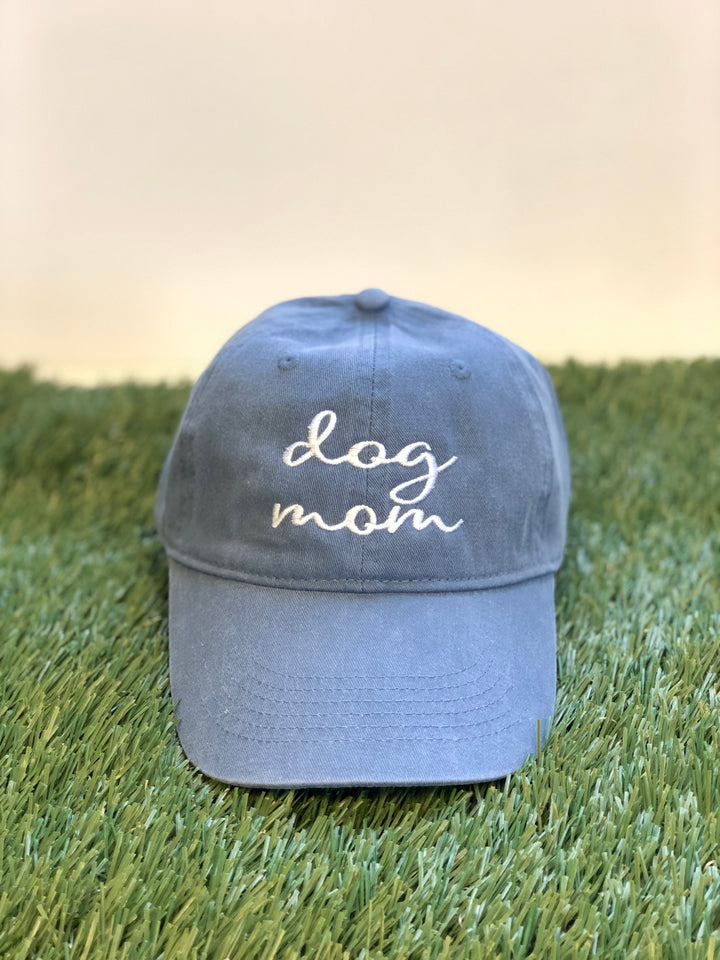 Dog Mom Canvas Baseball Hat - Wholesale