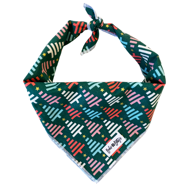 O' Christmas Tree Dog Bandana