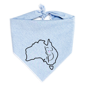 We Care Dog Bandana | benefiting the WWF Australia