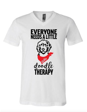 Everyone Needs a Little Doodle Therapy T-Shirt