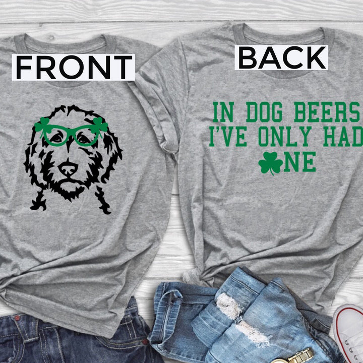 Double Sided St. Patrick's Day T-Shirt
