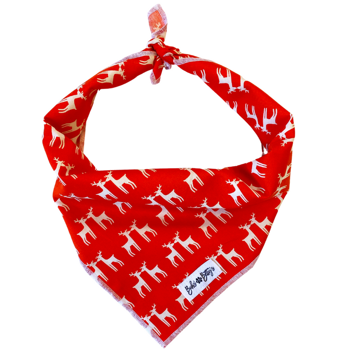 Reindeer Games Dog Bandana